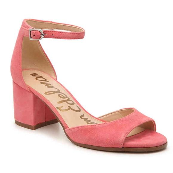 0a9c867515e3 Sam Edelman Susie Suede Ankle Strap Sandal